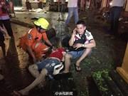Une bombe explose en plein centre de Bangkok, faisant plus de vingt morts