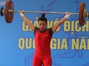 Hanoi remporte le championnat national d'haltérophilie 2015