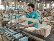 Bac Kan: construction d'une grande usine de bois
