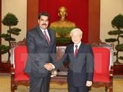 Des dirigeants reçoivent le président vénézuélien