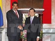Entretien Truong Tan Sang-Nicolás Maduro
