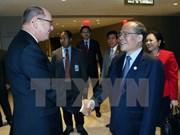 Activités du président de l'AN Nguyen Sinh Hung à l'ONU