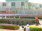 La grande parade militaire du 2 septembre