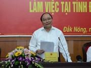 Dak Nong doit mobiliser toutes les ressources pour le développement socioéconomique