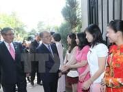 Le président de l'AN Nguyen Sinh Hung à Washington D.C.