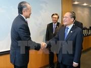 Nguyen Sinh Hung rencontre le président de la Banque mondiale