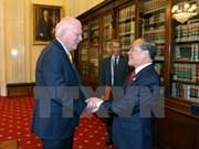 Activités du président de l'AN Nguyen Sinh Hung aux États-Unis