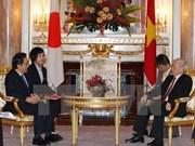 Le leader du PCV rencontre des personnalités japonaises