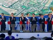 Mise en chantier du complexe industriel, urbain et de services VSIP Nghe An