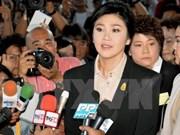 Thaïlande : l'ancienne Première ministre Yingluck doit payer des dédommagements