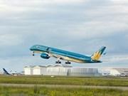 Un Airbus A350-XWB transporte des équipements à l'Hôpital de néphrologie de Hanoi