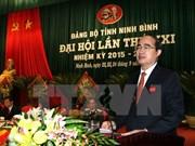 Congrès de l'organisation du PCV pour Ninh Binh