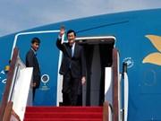Le président Truong Tan Sang part pour les Etats-Unis et Cuba