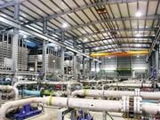 Nouvelle usine de dessalement d'eau de mer à Singapour