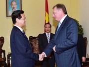 Le PM Nguyên Tân Dung reçoit le directeur général de Zarubezneft