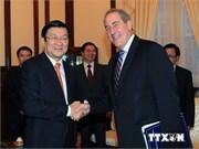 Le président Truong Tân Sang quitte New York pour Cuba