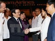 Le président Truong Tan Sang effectue une visite officielle à Cuba