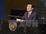 Le président Truong Tan Sang au Sommet de l'ONU sur le maintien de la paix