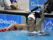 Trois médailles d'or pour Anh Vien aux Championnat d'Asie de natation par tranches d'âge