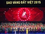 """Remise du prix """"Etoile d'or du Vietnam"""""""