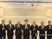 Sciences : forum ministériel de l'ASEAN+3 en République de Corée