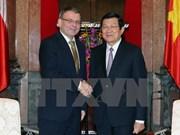 Le Vietnam et la République tchèque veulent des liens accrus