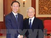 Le chef du PCV affirme le partenariat de coopération stratégique intégrale Vietnam-Chine