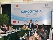 Le Vietnam souhaite renforcer sa coopération avec l'Italie et l'Espagne