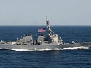 Nombre de pays pour la liberté de navigation maritime et de survol en Mer Orientale