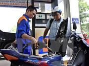 Baisse des prix des carburants