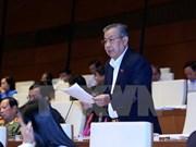 L'Assemblée nationale discute du développement socio-économique