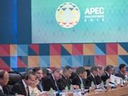 Clôture de la conférence ministérielle des AE et de l'Economie de l'APEC