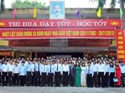 La Journée des enseignants vietnamiens fêtée dignement