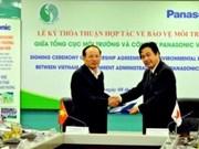 Panasonic Vietnam contribue à la protection de l'environnement