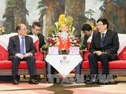 Nguyên Sinh Hung: le Vietnam favorise les entreprises chinoises