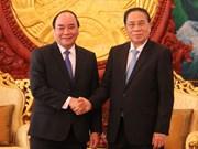 Le Laos attaché aux relations de coopération avec le Vietnam