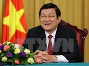 Truong Tan Sang : œuvrer ensemble pour l'essor du pays