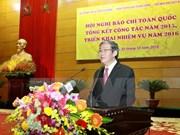 Conférence-bilan sur la presse nationale
