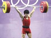 L'haltérophilie vietnamienne s'envolera pour Rio