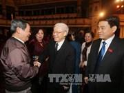 De hauts dirigeants à la rencontre des députés de Hanoi