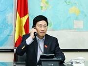 Vietnam - Etats-Unis : entretien téléphonique Pham Binh Minh - John Kerry