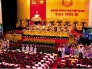 Le 10e Congrès national du Parti Communiste du Vietnam