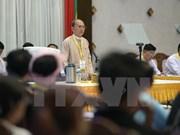 Conférence de paix au Myanmar