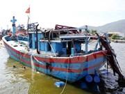 Protestation contre les attaques chinoises visant les pêcheurs vietnamiens
