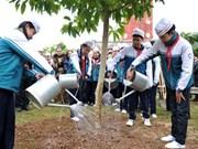 Fête de la plantation d'arbres du Printemps 2016