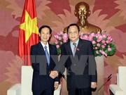 Renforcement des relations parlementaires Vietnam-Laos