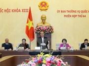 Ouverture de la 44e réunion du Comité permanent de l'AN