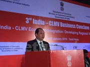 Commerce : le Vietnam à une conférence Inde-CLMV