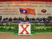Ouverture du 10e Congrès national du Parti populaire révolutionnaire du Laos