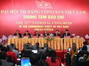 Inauguration du Centre de presse du 12e Congrès national du Parti